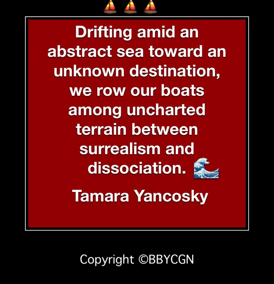 Uncharted Terrain of Dissociation, BBYCGN