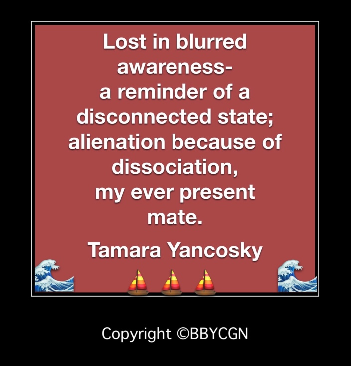 Uncharted Terrain of Dissociation BBYCGN